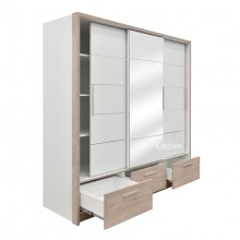 гардероб Калиопа с огледало и чекмеджета