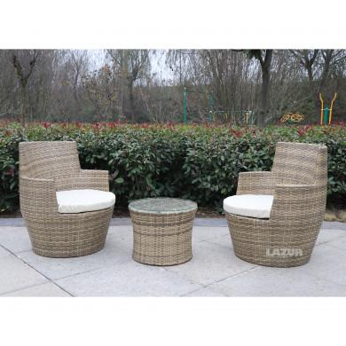 градински комплект мебели Панетоне 3 части