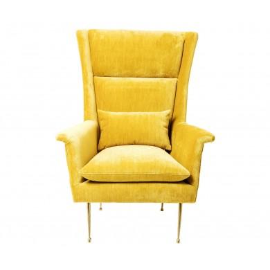 кресло с подлакътници Vegas Forever Yellow