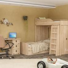 бюро Валенсия с 3 чекмеджета