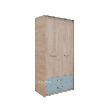 гардероб Киндер с две врати и чекмеджета