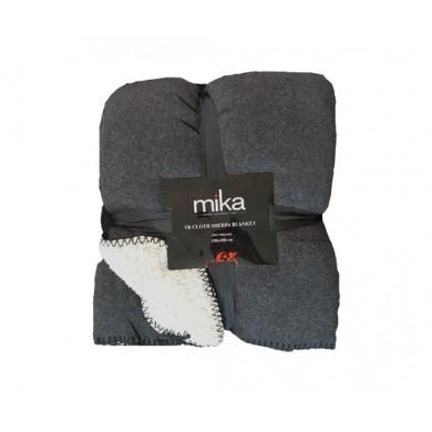 ОДЕАЛО MIKA CLOTH SHERPA BLACK