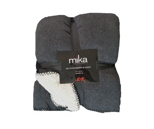 ОДЕАЛО MIKA CLOTH SHERPA BLACK