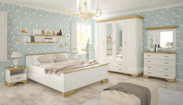 двукрилен гардероб Ирис