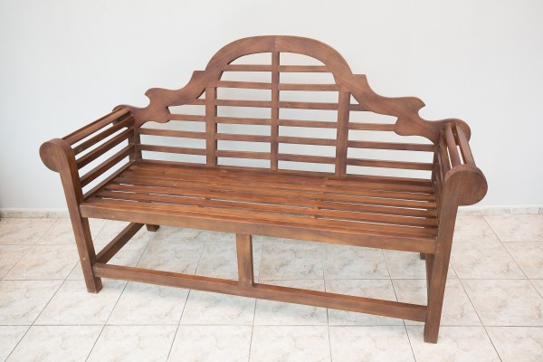 градинска пейка с висока облегалка Марлборо