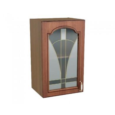 горен шкаф витрина