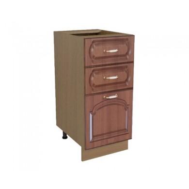 долен шкаф с 3 чекмеджета
