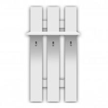 Стенна закачалка тройка Топ микс в бяло