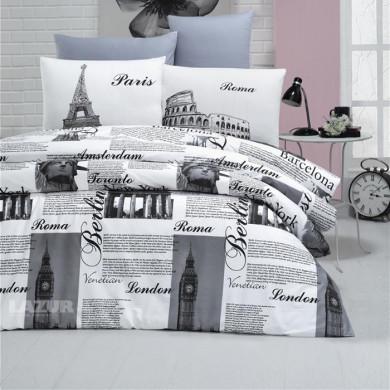олекотен спален комплект единичен 3 части