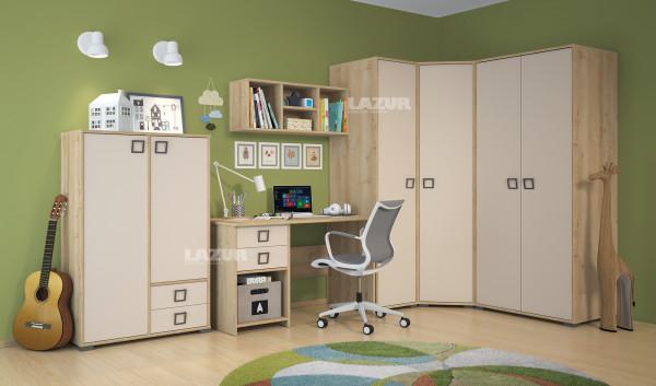 бюро Кики с допълнителен модул
