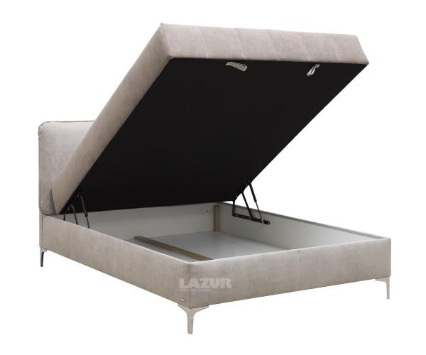 Тапицирано Boxspring легло Елеганс за матрак 160/200 см