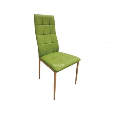 Трапезен стол Скай в зелен цвят