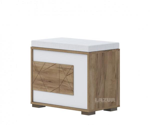 нисък шкаф за обувки Стела с място за сядане