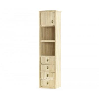 Шкаф с 1 врата и 4 чекмеджета Валенсия