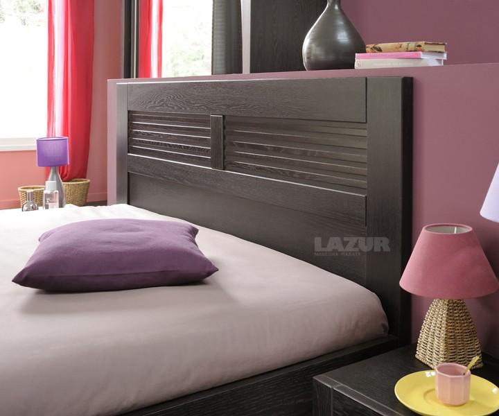 Спалня Сънсет 160 200 цвят венге