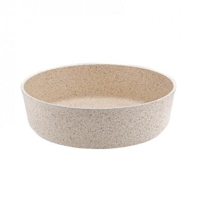 кръгла тава Hr Granite крем