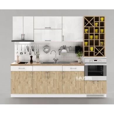 кухня Наполи бяло с дъб