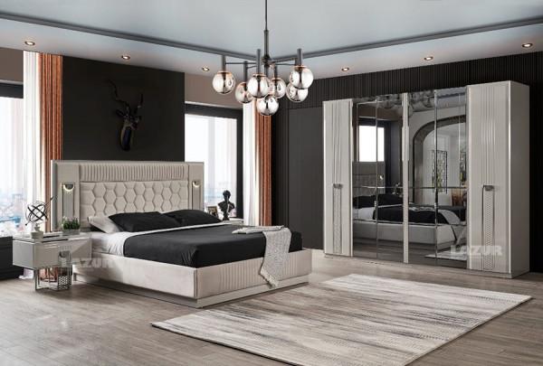 Спалня 160/200 Роял с осветление