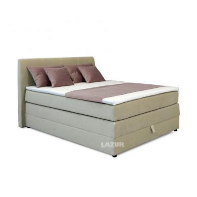 Тапицирано боксспринг легло Хотспот за матрак 140/200 см с включен топер