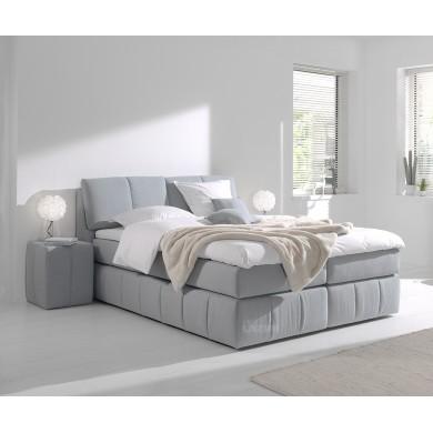 тапицирано боксспринг легло Флора за матрак 160/200 см