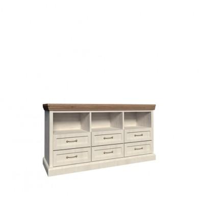 ТВ шкаф Роял с 3 чекмеджета и 3 ниши