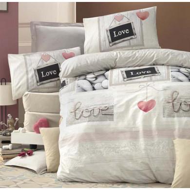 двоен спален комплект Love в кутия 4 части