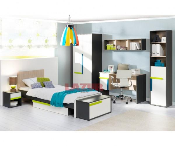 Легло Алекс за матрак 90/200 см с подматрачна рамка