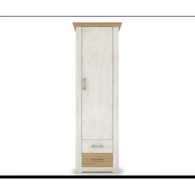 висок шкаф Арсал с 1 плътна врата