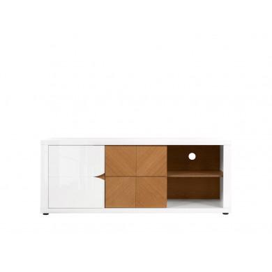 TV Шкаф Ровика с 1 врата и 2 чекмеджета