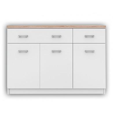 Нисък шкаф Топ микс с 3 врати и 2 чекмеджета
