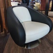 въртящо кресло модел А-311 в естествена кожа