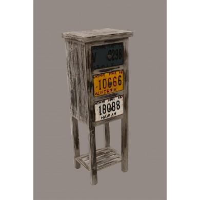 дървен винтидж шкаф DM02-01