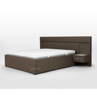 Тапицирано легло Пемба за матрак 160/200 см