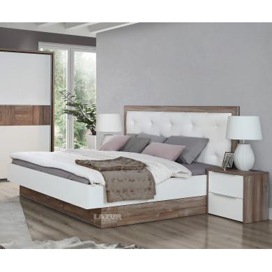 Спалня Еспорао с тапицирана табла
