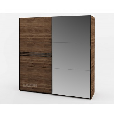 Гардероб Модерн с плъзгащи врати и огледало