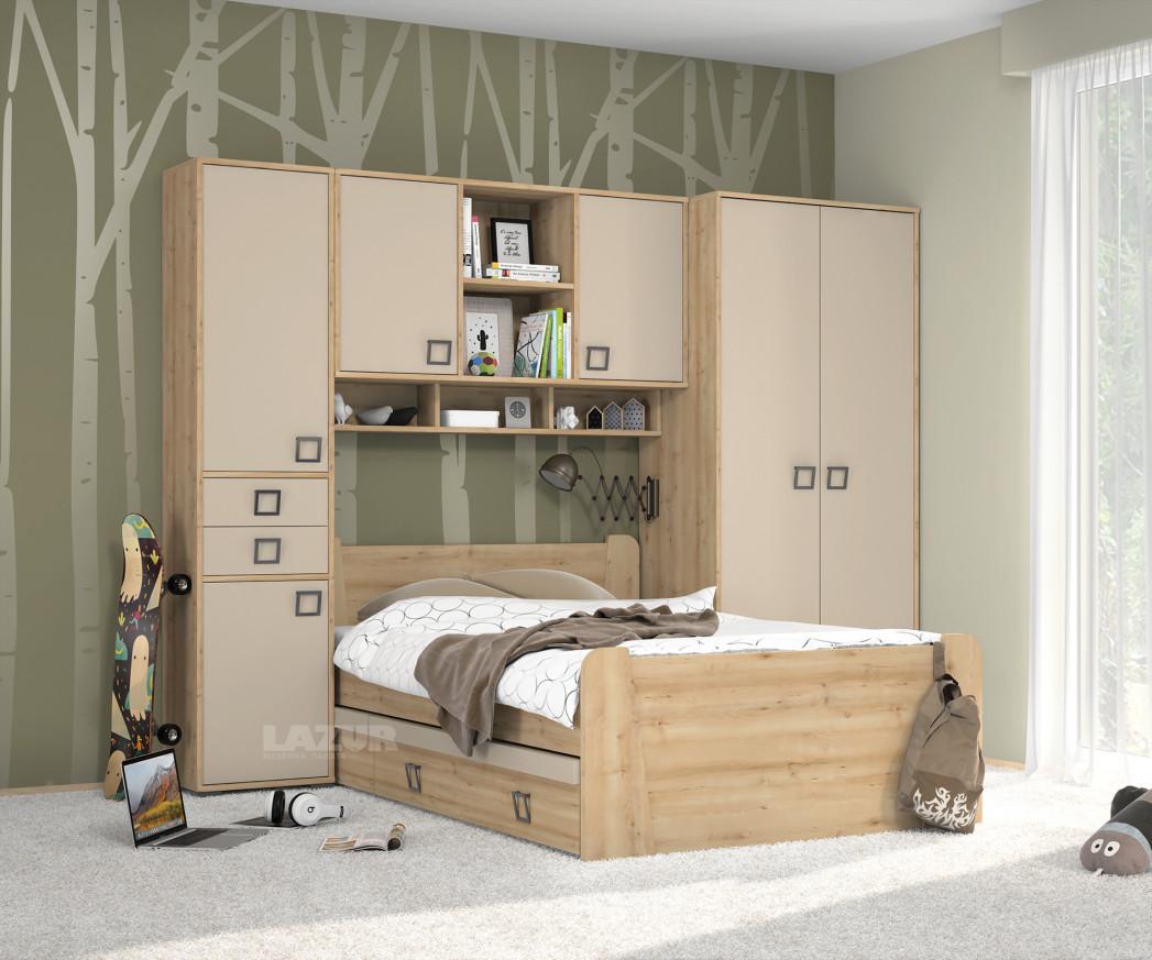 гардероб с чекмеджета Кики