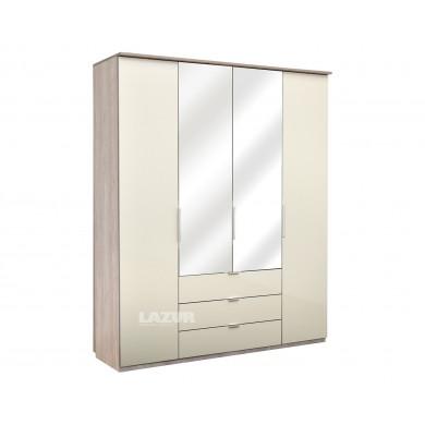 гардероб с огледало и чекмеджета Елеганс