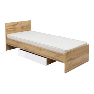 Легло Zele за матрак 90/200 см