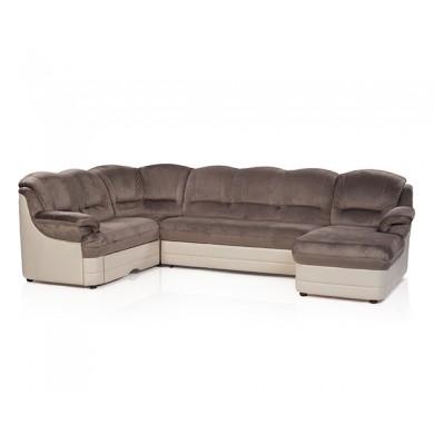 П-образен диван Сицилия с функция сън