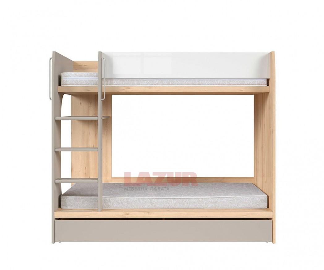 двуетажно легло Намек