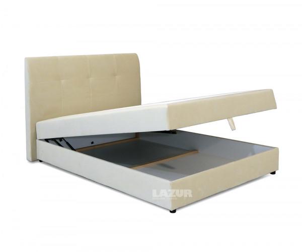 Тапицирано боксспринг легло Хотспот с матрак 140/200 см