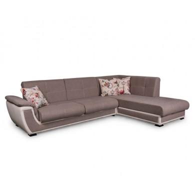 Ъглов диван Калифорния с функция сън и ракла