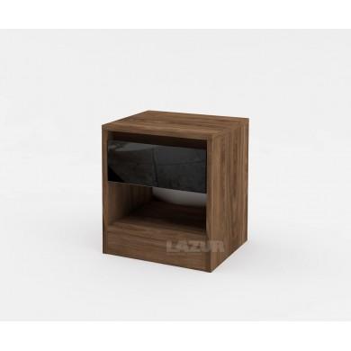 Нощно шкафче Модерн с чекмедже и ниша
