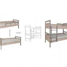 двуетажно легло Киндер