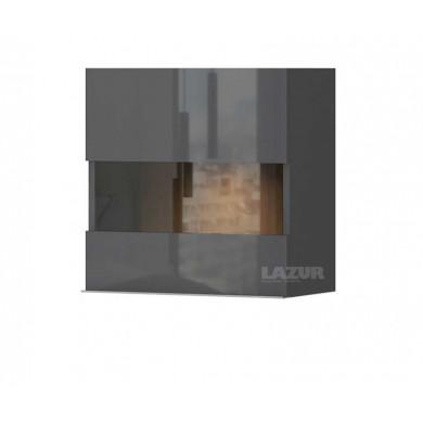 стенен шкаф със стъклена врата Оникс