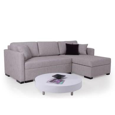 Ъглов диван Гауди с функция сън, ракла и възглавнички