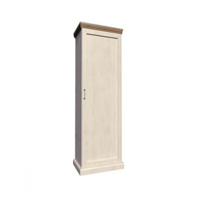 Висок шкаф еднокрил гардероб Роял