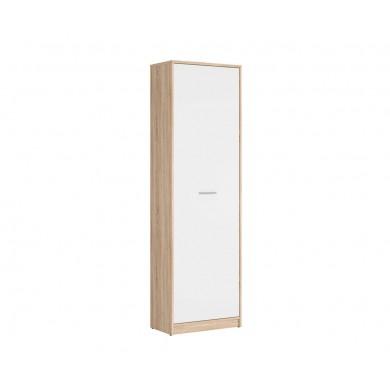 висок шкаф Непо с 1 плътна врата