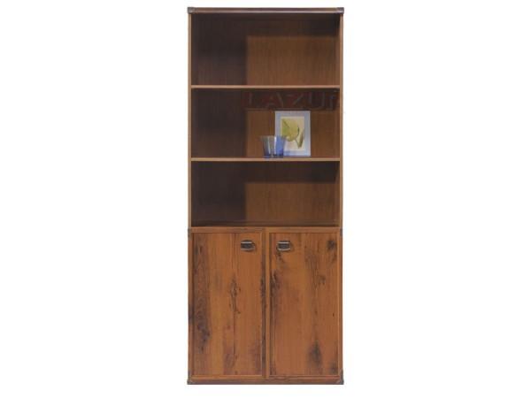 Шкаф с две врати и открити рафтове Индиана