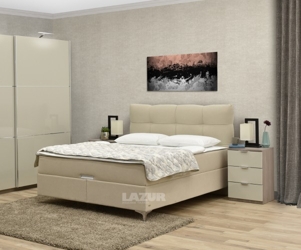 Боксспринг легло Корлеоне за матрак 160/200 см